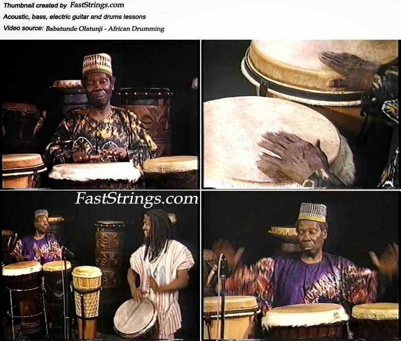 Babatunde Olatunji - African Drumming