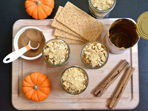 Pumpkin Yogurt Parfaits