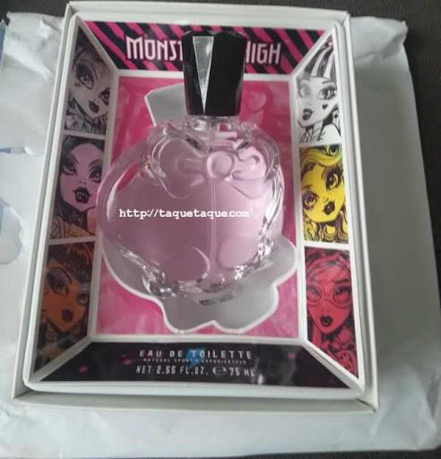 Soy una de las 10 afortunadas ganadoras del perfume Monster High. ¡¡¡Por fin gano algo!!!