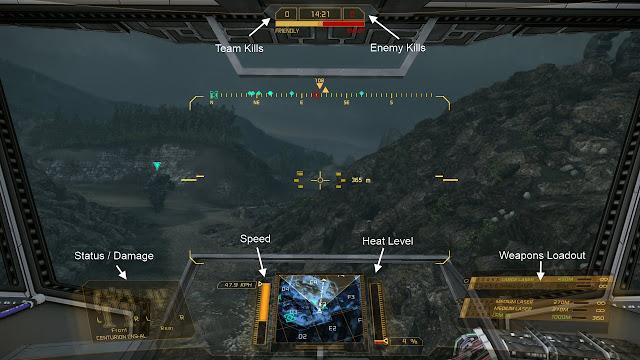 MechWarrior Online UI Screen