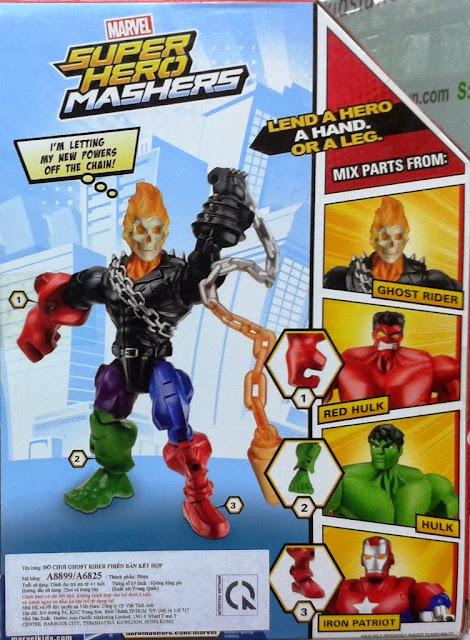 Đồ chơi mô hình Ma tốc độ Ghost Rider phiên bản kết hợp