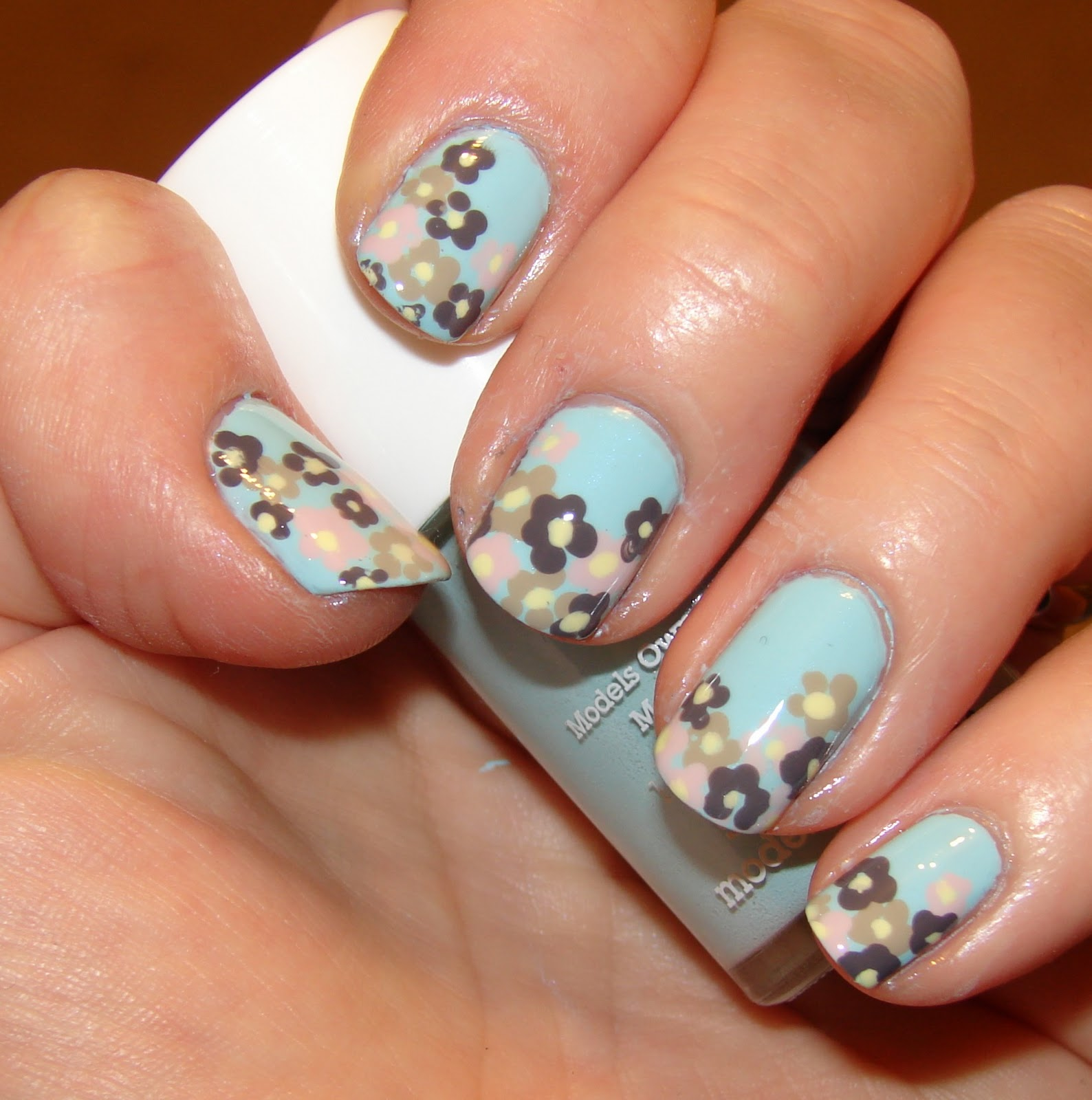 Floral Manicures For Spring And: Kawaii Nail Art: Spring Flowers