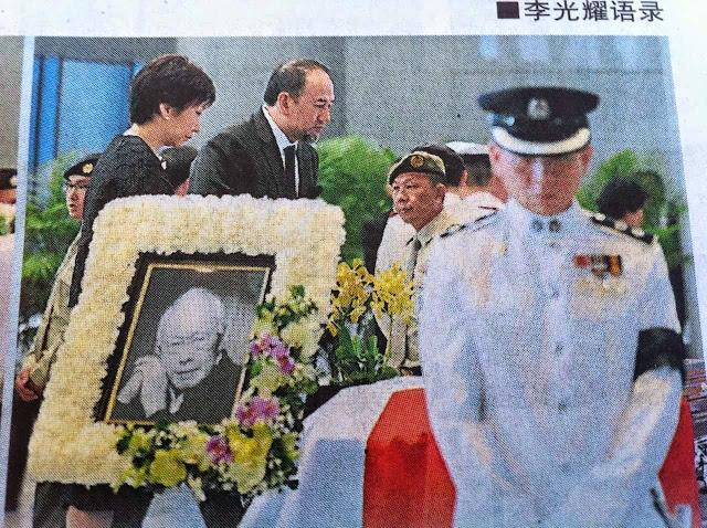 Sultan Kelantan Ziarah Jasad Bekas PM Singapura