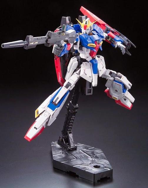 Sáng tạo nên các tư thế sống động cho Zeta Gundam
