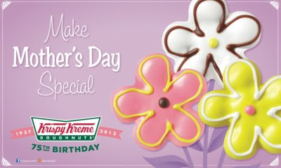 mother's day, krispy kreme, simple pleasures