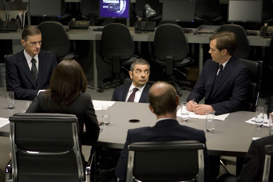 Rowan Atkinson in Johnny English Reborn