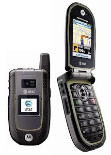 Motorola Tundra VA76r flap phone