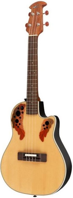 Ovation Applause Spruce Tenor at Lardy's Ukulele Database