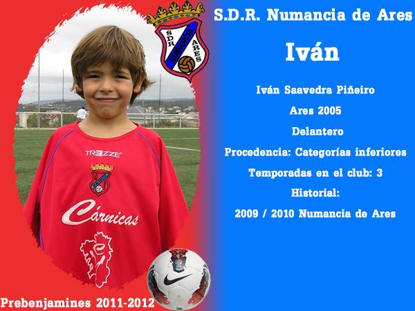 ADR Numancia de Ares. Prebenxamíns 2011-2012. IVAN