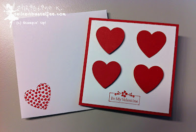 stampin up, hearts a flutter, my little valentine, valentinstag, envelope punch board