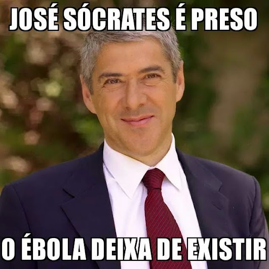Cartoons - José Sócrates e o Ébola