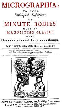 Robert Hooke: Micrographia
