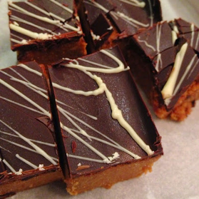 Mary Berry Chocolate Peanut Butter Squares