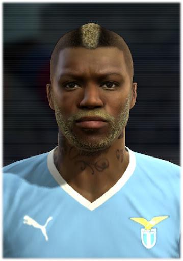 Djibril Cissé Face - PES 2012
