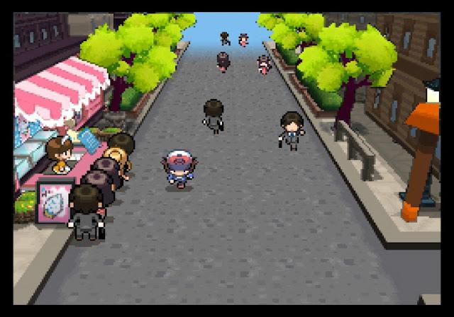 Giao diện 3D hoàn hảo trong Pokemon Black/White