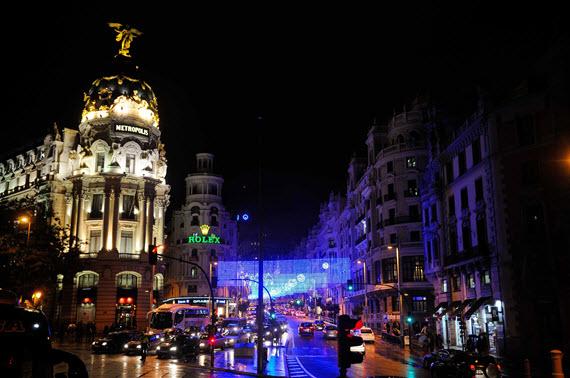 Madrid enciende las luces de la Navidad