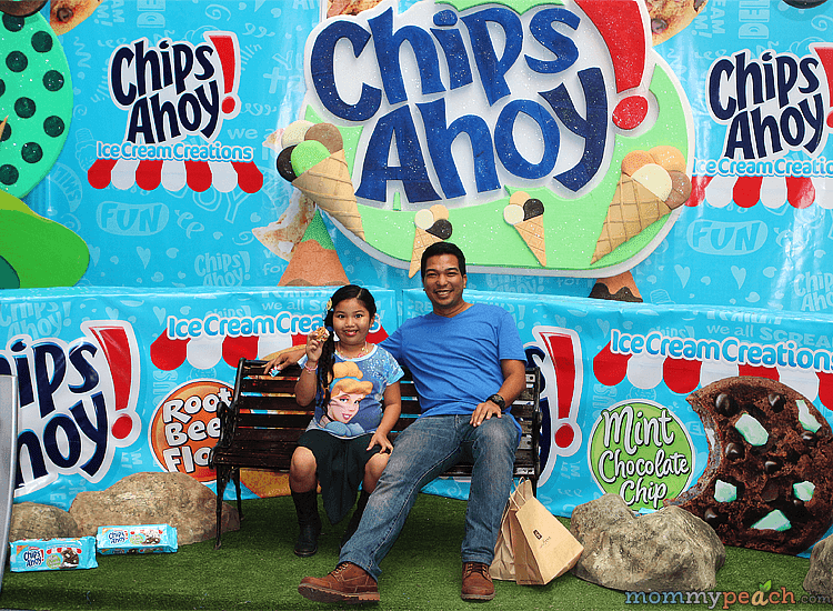 Chips Ahoy Ice Cream Creation Mall Launch