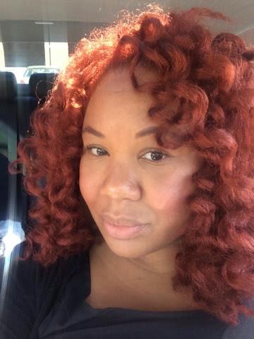 ... by Patience B. Moore: Crochet Braid Marley Hair over my Dreadlocks