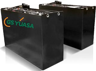 Bình điện xe nâng Acqui GS Yuasa