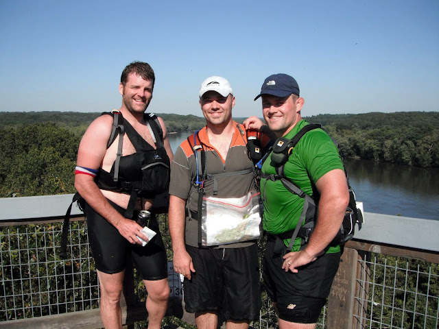 After pack-rafting at Thunder Rolls