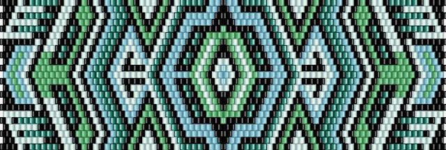 браслет мозаичное плетение