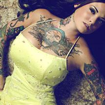 tattoo pelo corpo