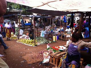 Chagga village market