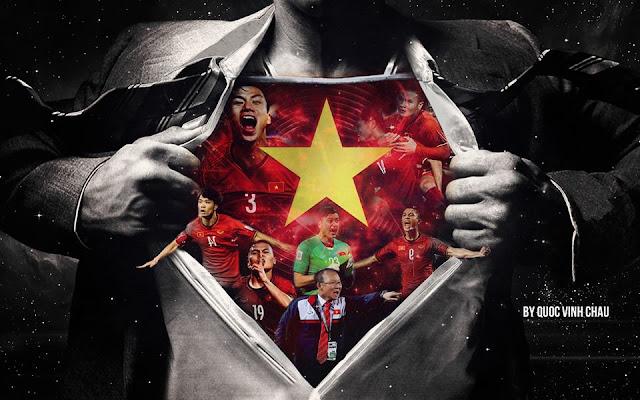 Chia sẻ một số hình ảnh cổ vũ đội tuyển Việt Nam giành cúp vô địch