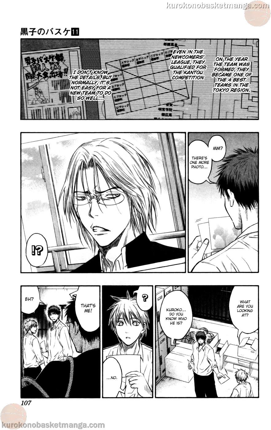 Kuroko no Basket Manga Chapter 95 - Image 03