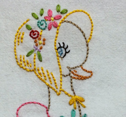 Miss Sunbonnet Duck