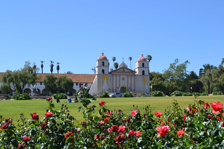 Старая Миссия Санта Барбара, Санта-Барбара, Калифорния (Old Mission Santa Barbara, Santa Barbara, CA)