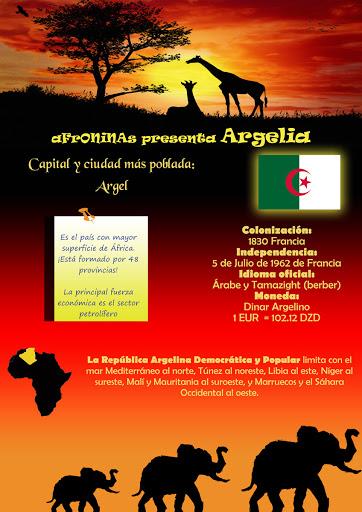 Un País de África Algeria