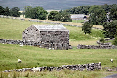 Farmhouse in the Eden Valley in Cumbria England