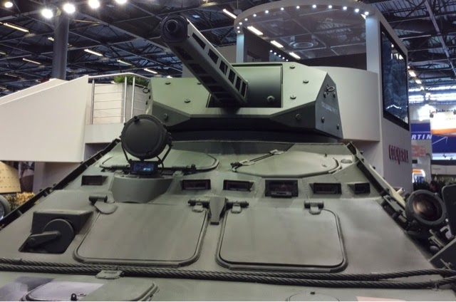 CMI CPWS Remote Turret on BTR4 Front View