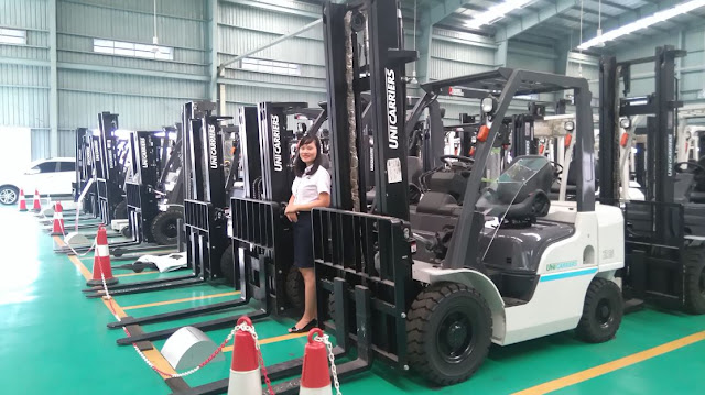 Unicarriers premium diesel forklift from Nissan factory