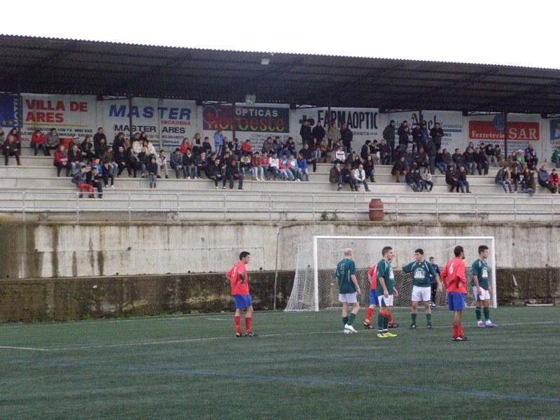 """Instante do partido Numancia - G. Mugardos """"B"""" da pasada temporada (13/01/2013)"""
