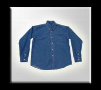 Camisa en Jean para dotaciones.