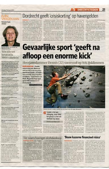 Artikel Algemeen Dagblad 09-02-2010