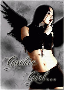 gothic girl indometalgoth