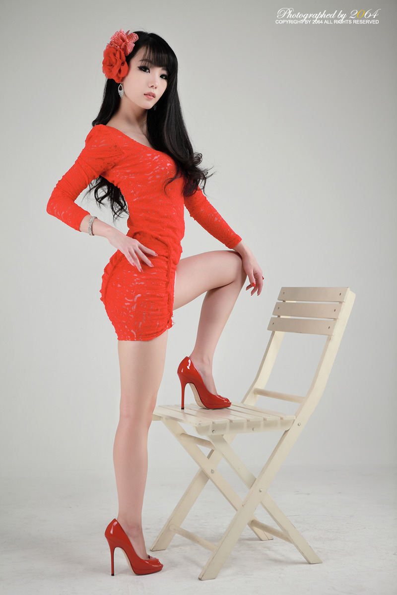 Sexy+Im+Soo+Yeon%21 025 Beautiful Im Soo Yeon Photos in Red Dress