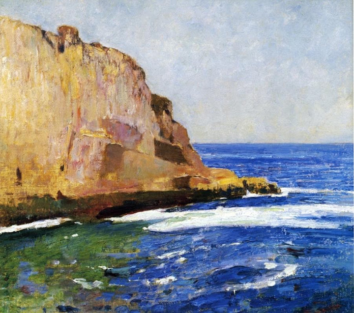 Emil Carlsen - Bald Head Cliff, York, Maine
