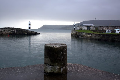 Carnlough Harbor in Northern Ireland