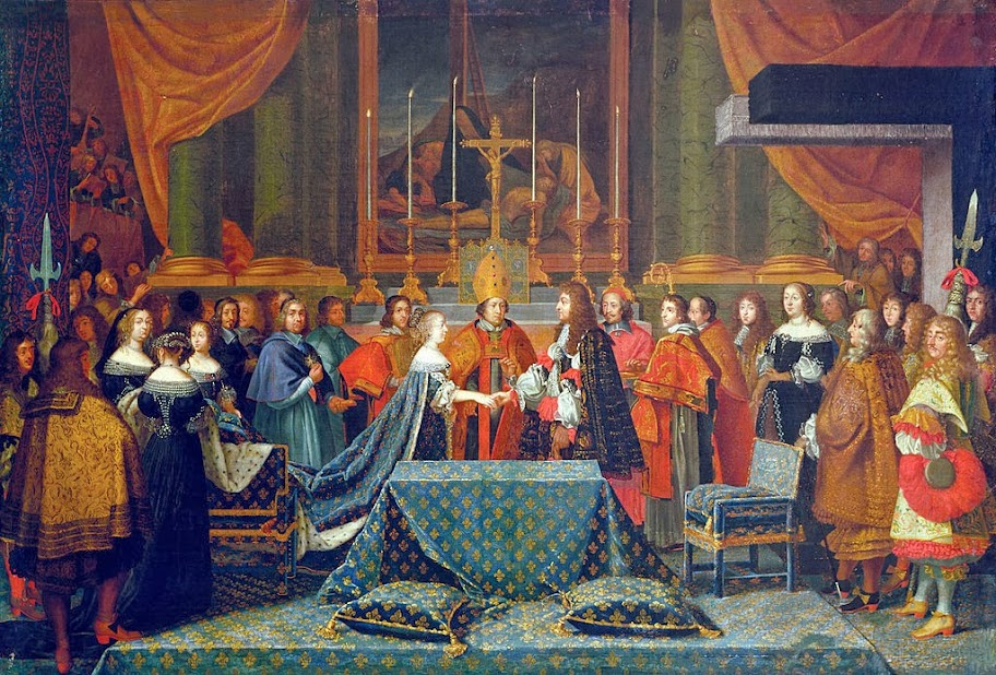 Laumosnier - Wedding of Louis XIV of France, June 9th 1660