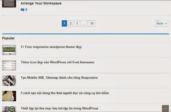 Cách tạo Widget trượt trong Wordpress đơn giản 7