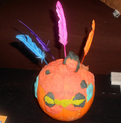 Create a Pumpkin Turkey