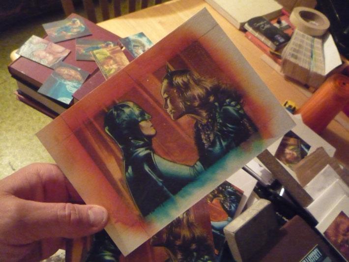 Batman vs Catwoman Limited Edition Print