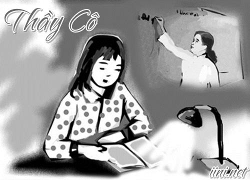 Thơ 8 chữ viết về Thầy Cô giáo