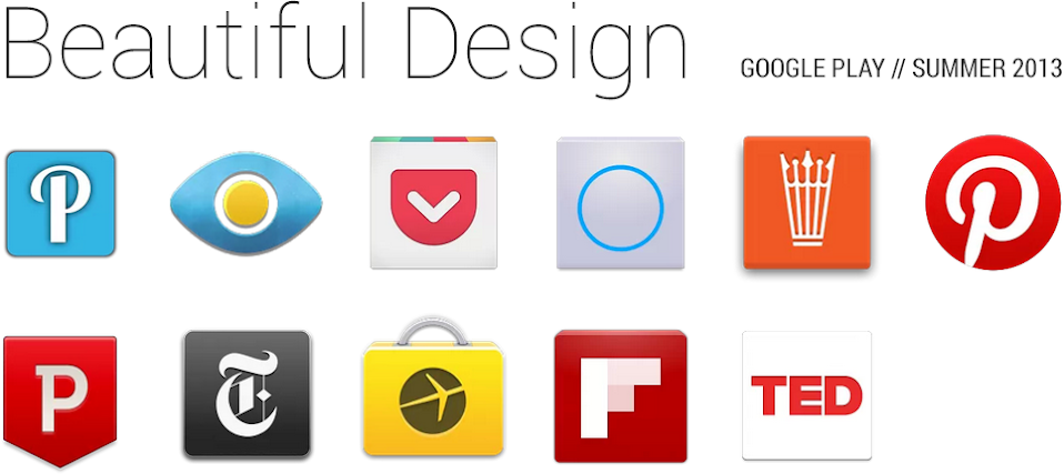 Google Play Beautiful Apps