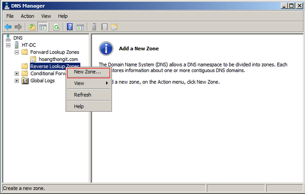Cài đặt và cấu hình DNS