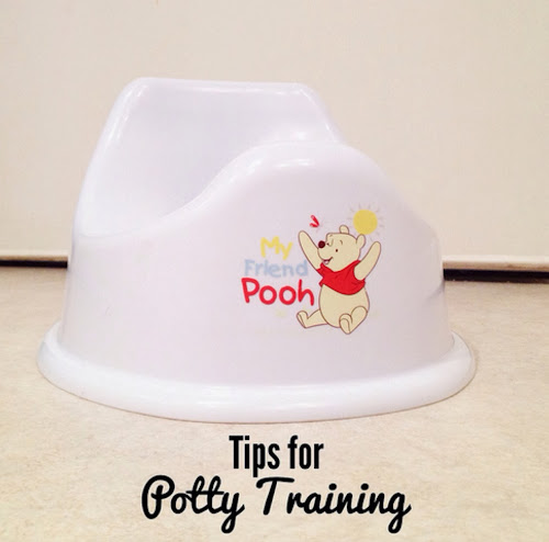 toilet or potty training tips